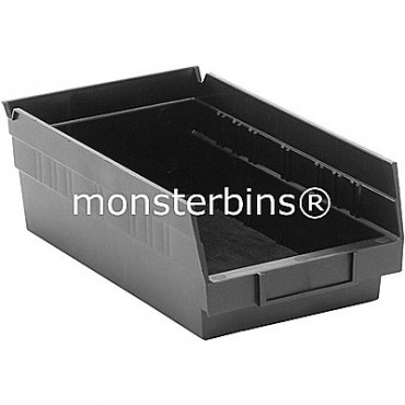 Recycled Plastic Shelf Bin 12x6x4