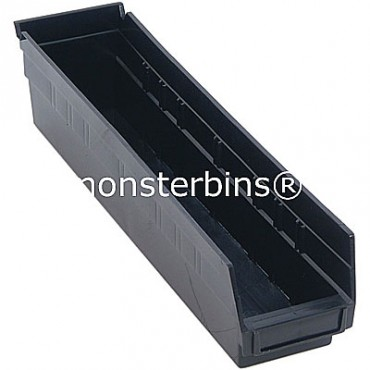 Conductive Plastic Shelf Bin 18x4x4