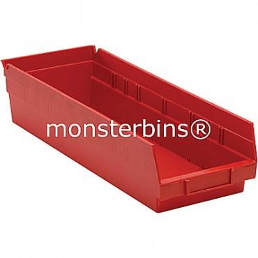 Plastic Shelf Bin 18x6x4