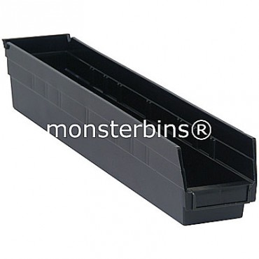 Conductive Plastic Shelf Bin 24x4x4