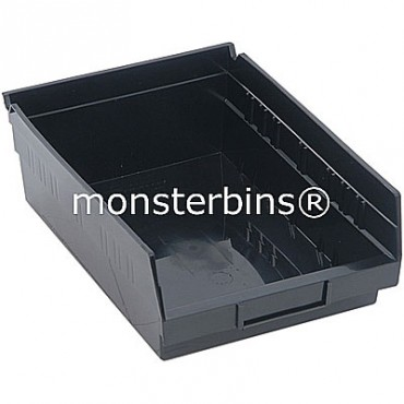 Conductive Plastic Shelf Bin 12x8x4