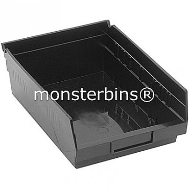 Recycled Plastic Shelf Bin 12x8x4