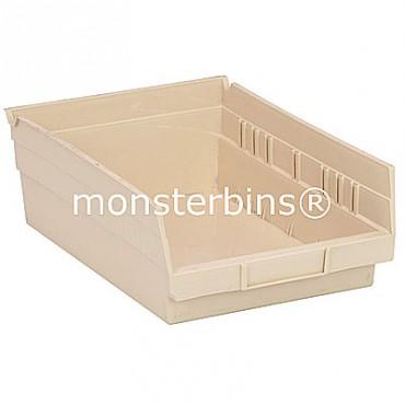 Plastic Shelf Bin 12x8x4