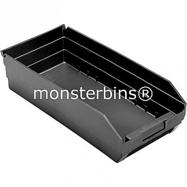 Recycled Plastic Shelf Bin 18x8x4