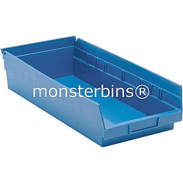 Plastic Shelf Bin 18x8x4