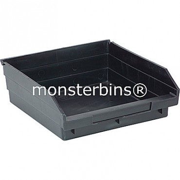 Conductive Plastic Shelf Bin 12x11x4