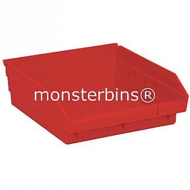 Plastic Shelf Bin 12x11x4