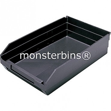 Conductive Plastic Shelf Bin 18x11x4
