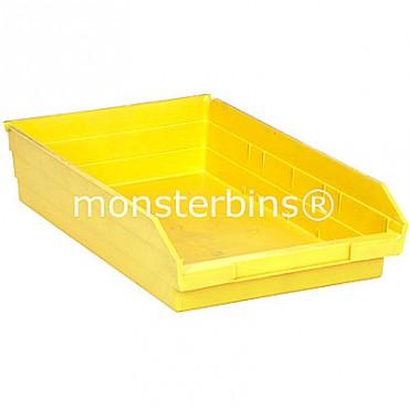 Plastic Shelf Bin 18x11x4