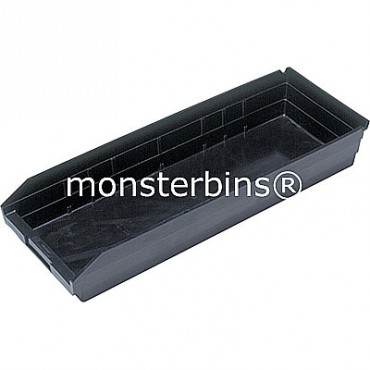 Conductive Plastic Shelf Bin 24x8x4