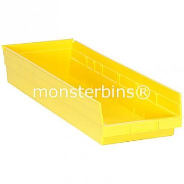 Plastic Shelf Bin 24x8x4