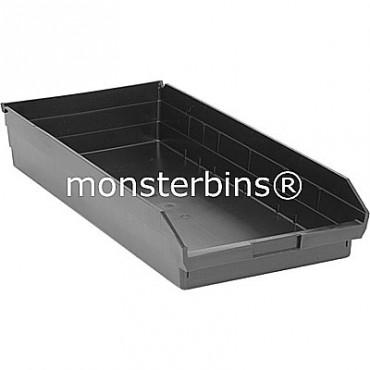 Recycled Plastic Shelf Bin 24x11x4