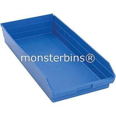 Plastic Shelf Bin 24x11x4