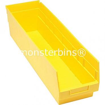 Plastic Shelf Bin 24x6x6