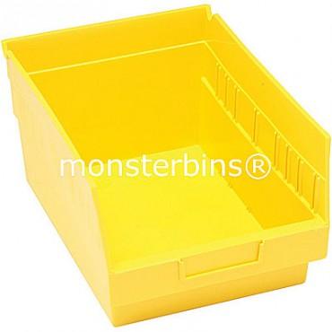 Plastic Shelf Bin 12x8x6