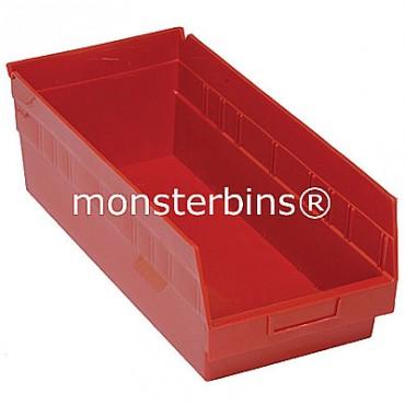 Plastic Shelf Bin 18x8x6