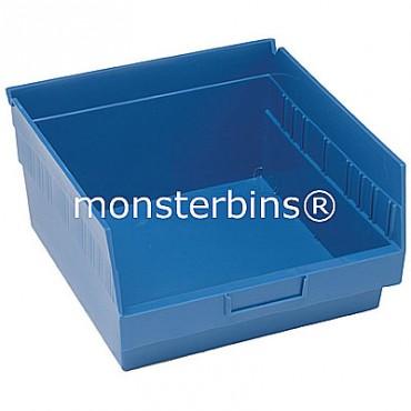 Plastic Shelf Bin 12x11x6