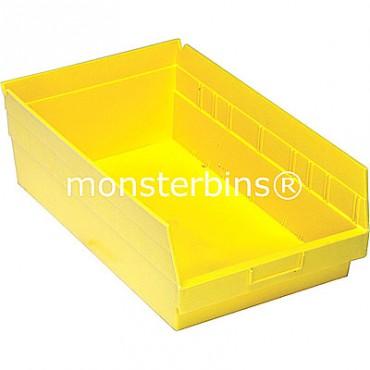 Plastic Shelf Bin 18x11x6