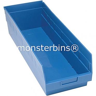 Plastic Shelf Bin 24x8x6