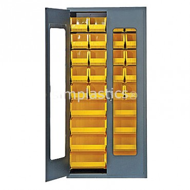 MSC-C240250 with Yellow MB240 MB250 Plastic Bins