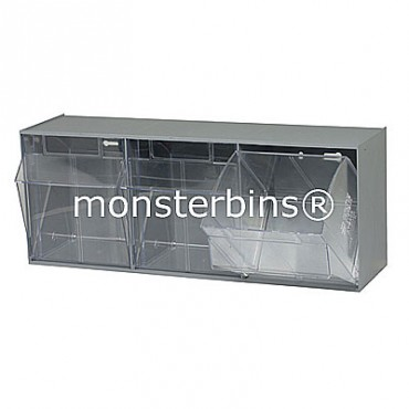 3 Compartment Tip Out Bin