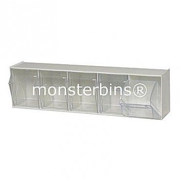 5 Compartment Tip Out Bin