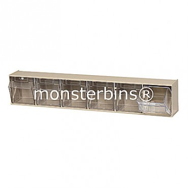 6 Compartment Tip Out Bin