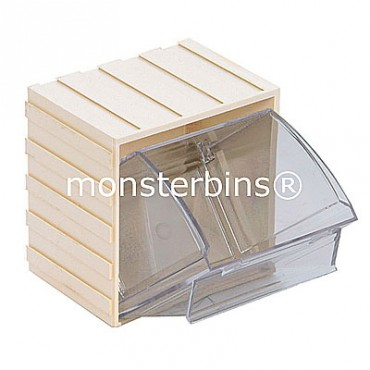 Individual Tip Out Bin - 3x4x4