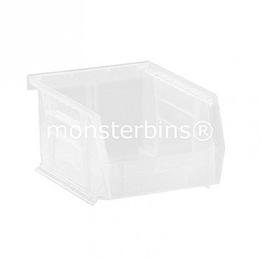 Quantum Clear Stacking Plastic Bins QUS210CL