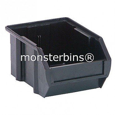 QUS210CO ESD Conductive Stacking Bin 5x4x3