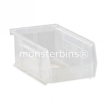 Quantum Clear Stacking Plastic Bins QUS220CL