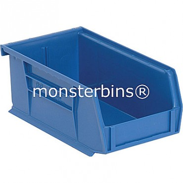 Monster MB220 Stacking Plastic Bins 7x4x3  Blue