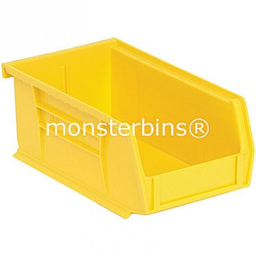 Quantum QUS220 Stacking Plastic Bins 7x4x3  Yellow