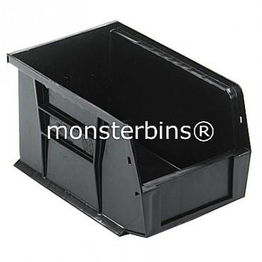 Quantum QUS221 Stacking Plastic Bins 9x6x5  Black