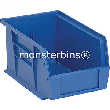 Monster MB221 Stacking Plastic Bins 9x6x5  Blue