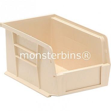 Quantum QUS221 Stacking Plastic Bins 9x6x5  Ivory