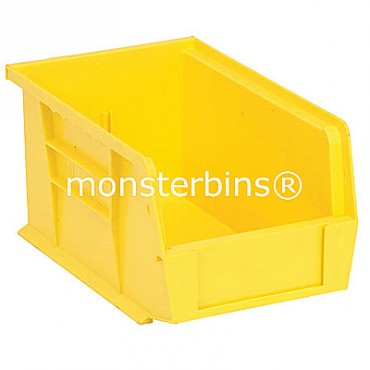 Monster MB221 Stacking Plastic Bins 9x6x5  Yellow