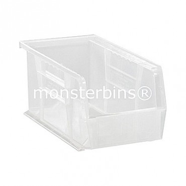 Quantum Clear Stacking Plastic Bins QUS230CL