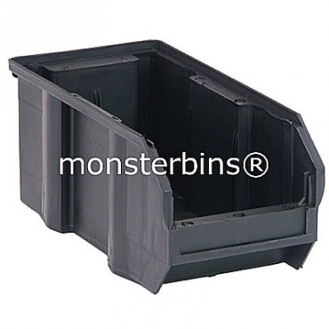 QUS230CO ESD Conductive Stacking Bin 11x5x5