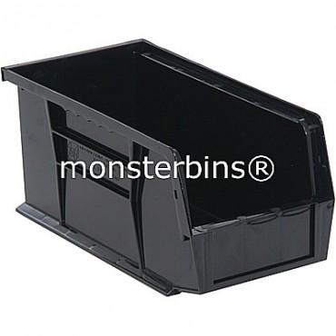 Quantum QUS230 Stacking Plastic Bins 11x5x5  Black