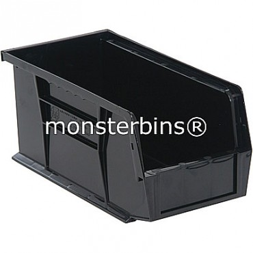 Monster MB230 Stacking Plastic Bins 11x5x5  Black