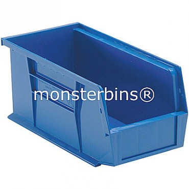 Monster MB230 Stacking Plastic Bins 11x5x5  Blue