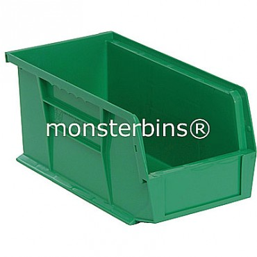 Monster MB230 Stacking Plastic Bins 11x5x5  Green