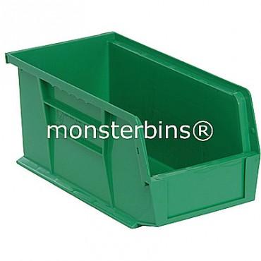 Quantum QUS230 Stacking Plastic Bins 11x5x5  Green