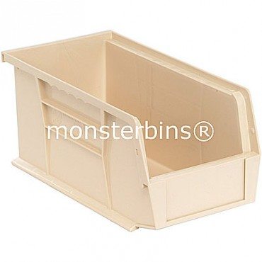 Monster MB230 Stacking Plastic Bins 11x5x5  Ivory