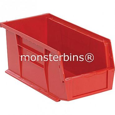 Quantum QUS230 Stacking Plastic Bins 11x5x5  Red