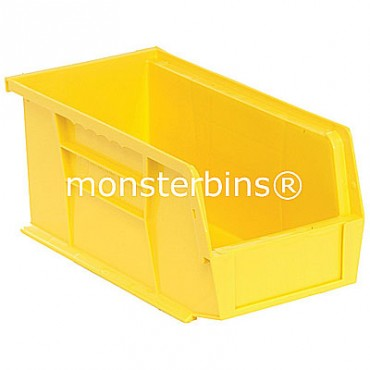 Monster MB230 Stacking Plastic Bins 11x5x5  Yellow
