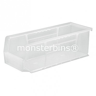 Quantum Clear Stacking Plastic Bins QUS234CL