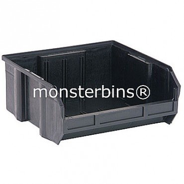 QUS235CO ESD Conductive Stacking Bin 11x11x5