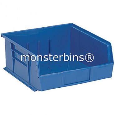 Monster MB235 Stacking Plastic Bins 11x11x5  Blue